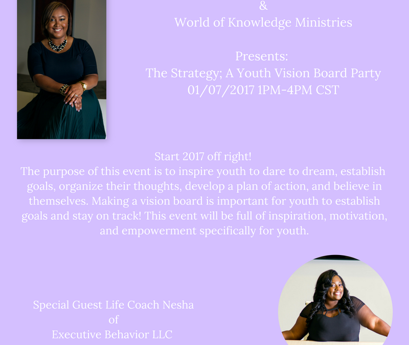 The Strategy: A Youth Vision Board Party